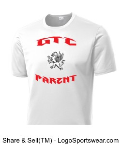Mens Sport-Tec Competitor Tee for Parents Design Zoom