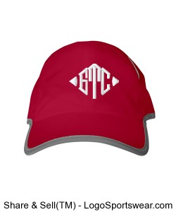 GTC Performance 6 Panel Cap-Red Design Zoom